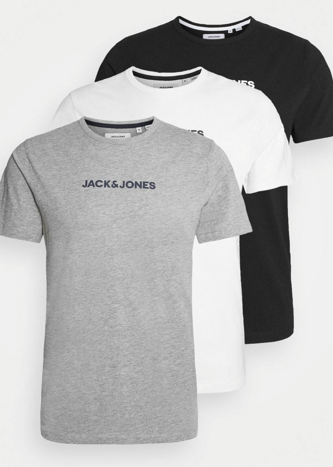 Lot de 3 hauts de pyjama Jack & Jones - Tailles au choix