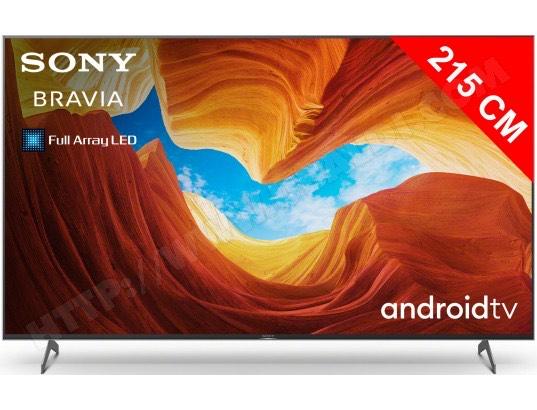 "TV 85"" Sony Bravia KE-85XH9096 - 4K UHD, 100 Hz, HDR10, Smart TV"