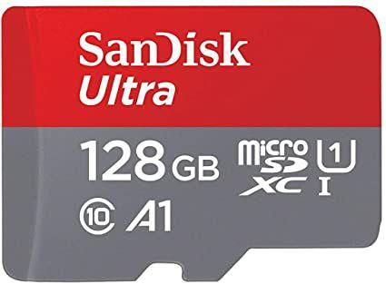 Carte Mémoire MicroSDXC SanDisk Ultra - 128 Go