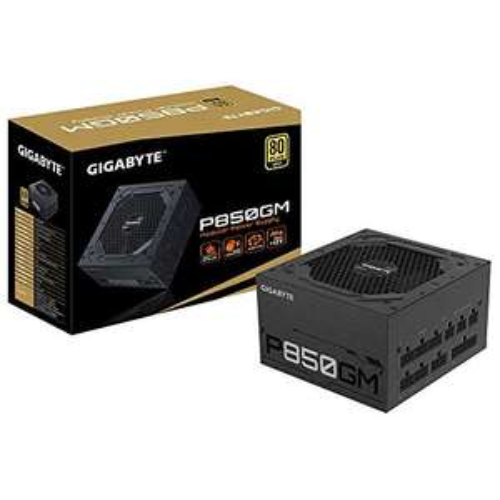 Alimentation PC modulaire Gigabyte GP-P850GM - 850W, 80+ Gold
