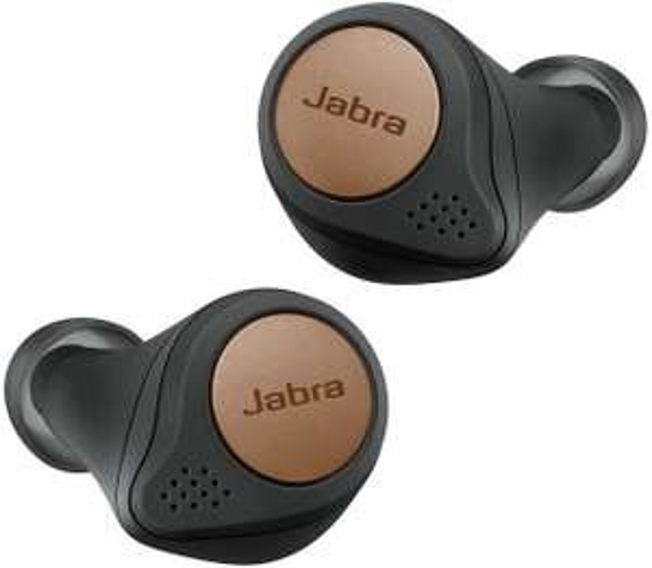 Sélection d'écouteurs et casques Jabra en promotion - Ex : Écouteurs sans fil intra-auriculaires Jabra Elite Active 75t Sport (Noir Cuivre)