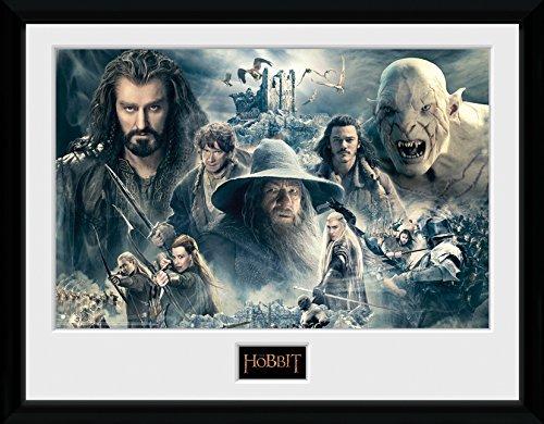 Photographie encadrée The Hobbit - Battle of Five Armies Collage (30 x 40 cm)
