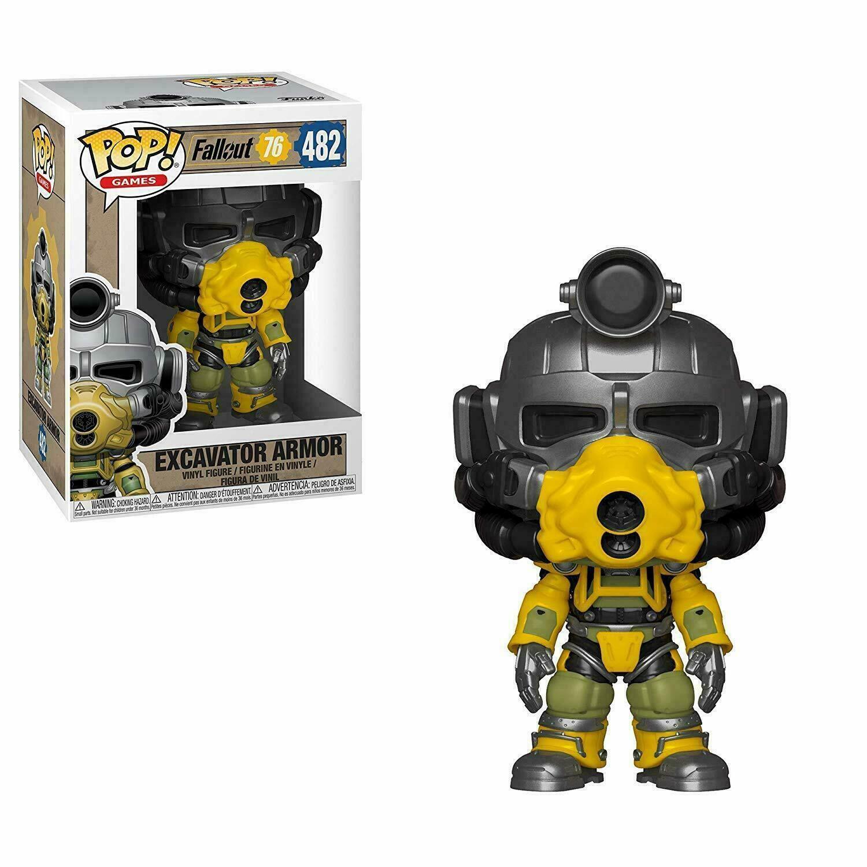Figurine Funko Pop! N°482 - Fallout 76, Excavator Armor