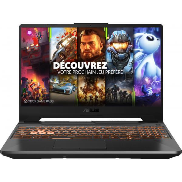 "Pc Portable 15.6"" ASUS GAMING A15-TUF506IU-HN416T - 144Hz, Ryzen R5-4600H, Full HD, GeForce GTX 1660 Ti, RAM 16 Go, SSD 512 Go, Windows 10"