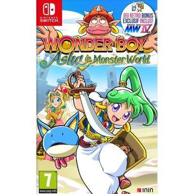 Wonderboy: Asha in Monster World sur Nintendo Switch