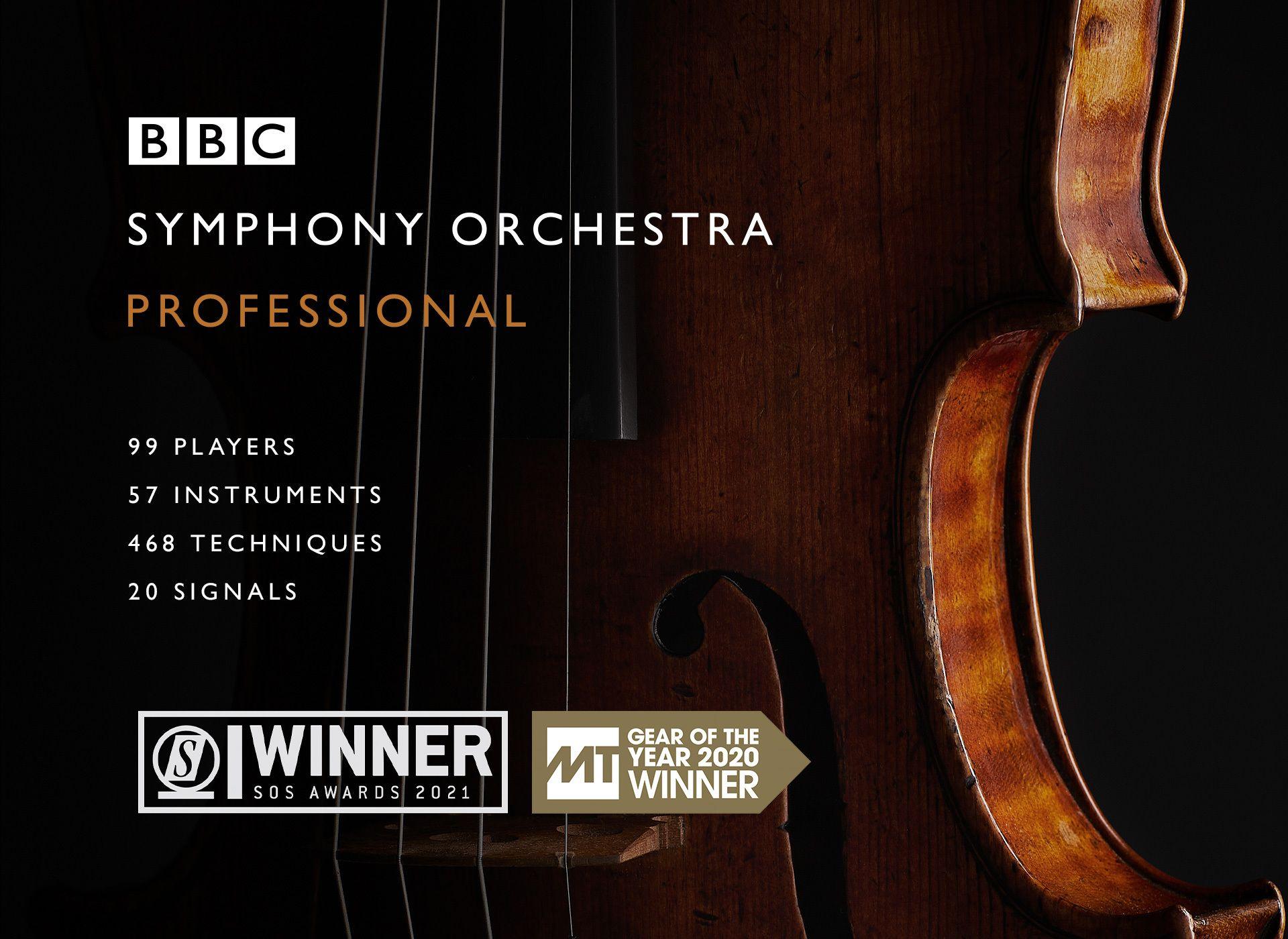 Plugin et banque de sons Spitfire Audio — BBC Symphony Orchestra Professional (Dématérialisé - spitfireaudio.com)