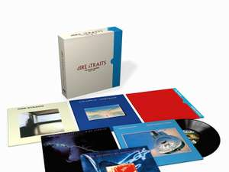 Coffret Album Vinyle Dire Straits the Studio Albums 1978-1991 - Edition Limitée