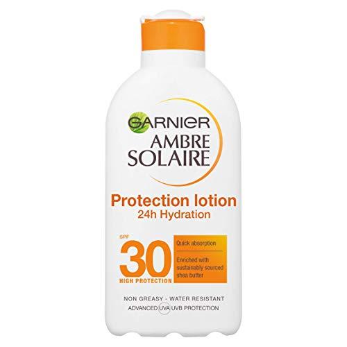 Crème solaire Garnier Ambre Solaire High Protection - Indice SPF 30, 200ml