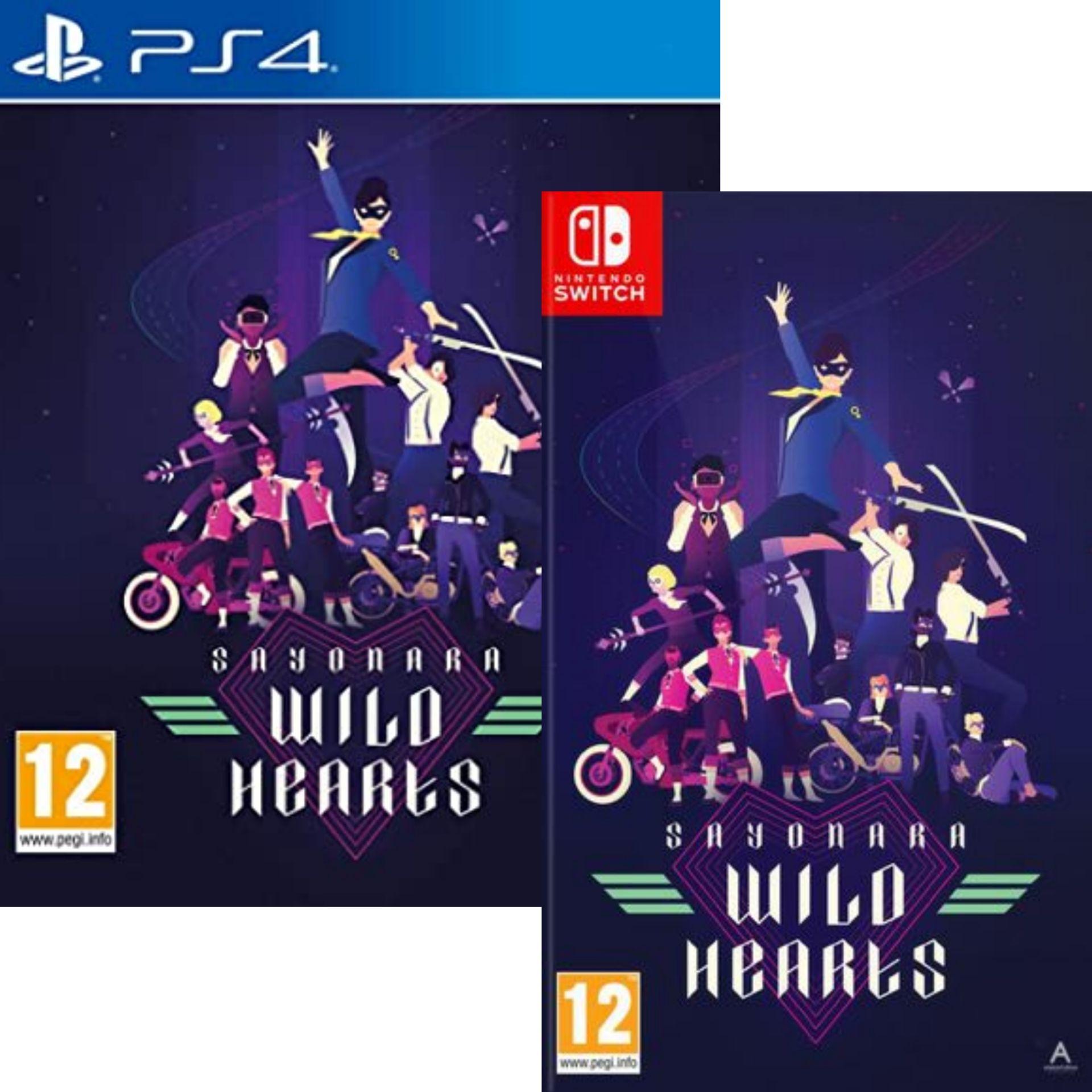 Sayonara Wild Hearts sur PS4 ou Nintendo Switch