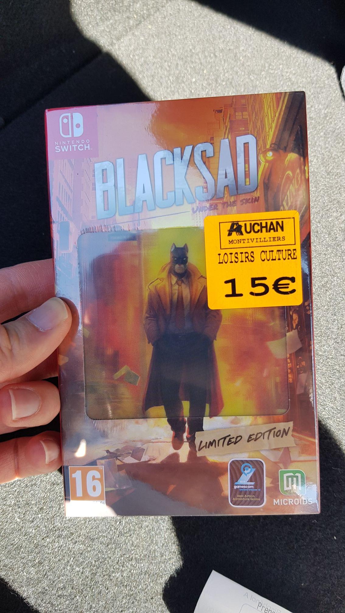 Blacksad sur Nintendo Switch - Montivilliers (76)