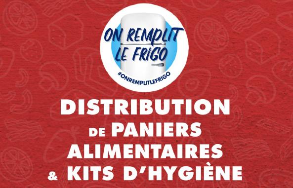 [Etudiants] Distribution de paniers alimentaires et kits d'hygiène - Massy (91)