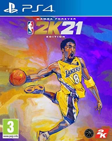 NBA 2K21 - Édition Mamba Forever sur PS4 (via retrait en magasins)