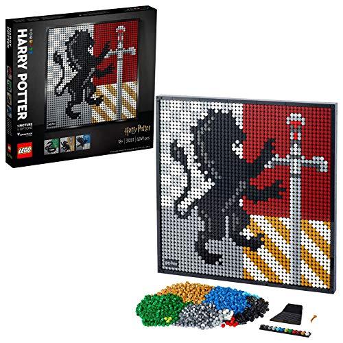 Jouet Lego Art Harry Potter - Les blasons de Poudlard (31201)