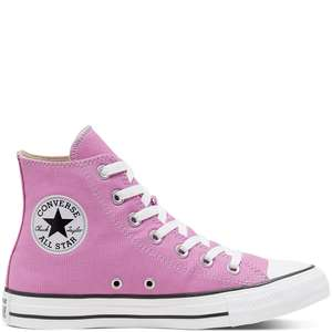 Chaussures montantes Converse Chuck Taylor All Star Seasonal Color - Rose, Tailles 35 à 48