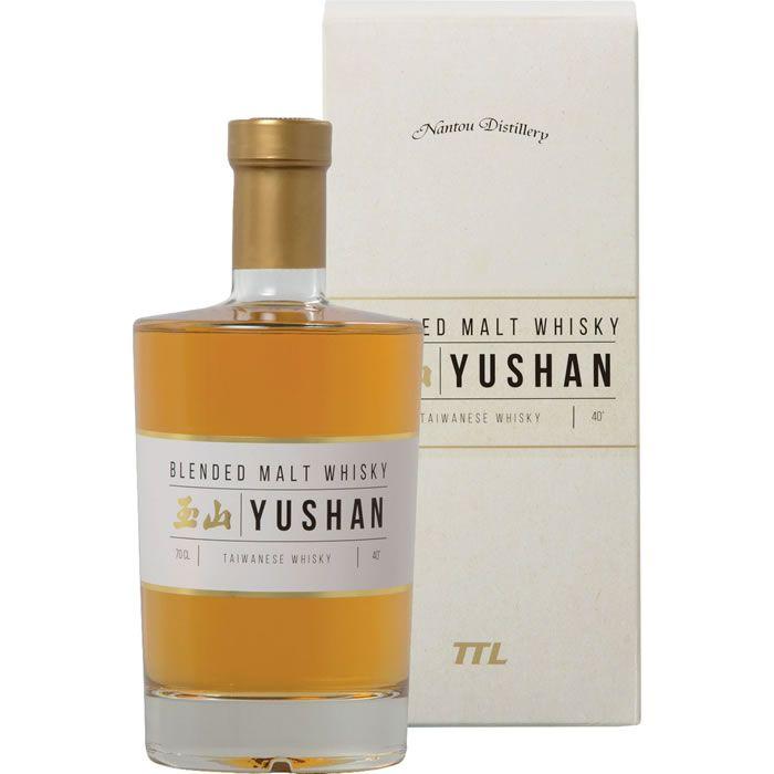 1 Bouteille de Whisky Yushan - 70cl