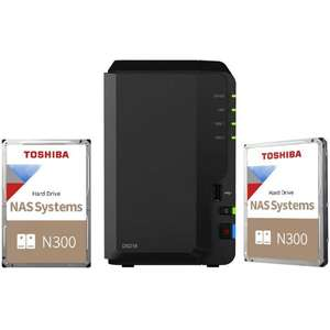 Serveur Nas Synology DS218 + 2 disques dur Toshiba 4To