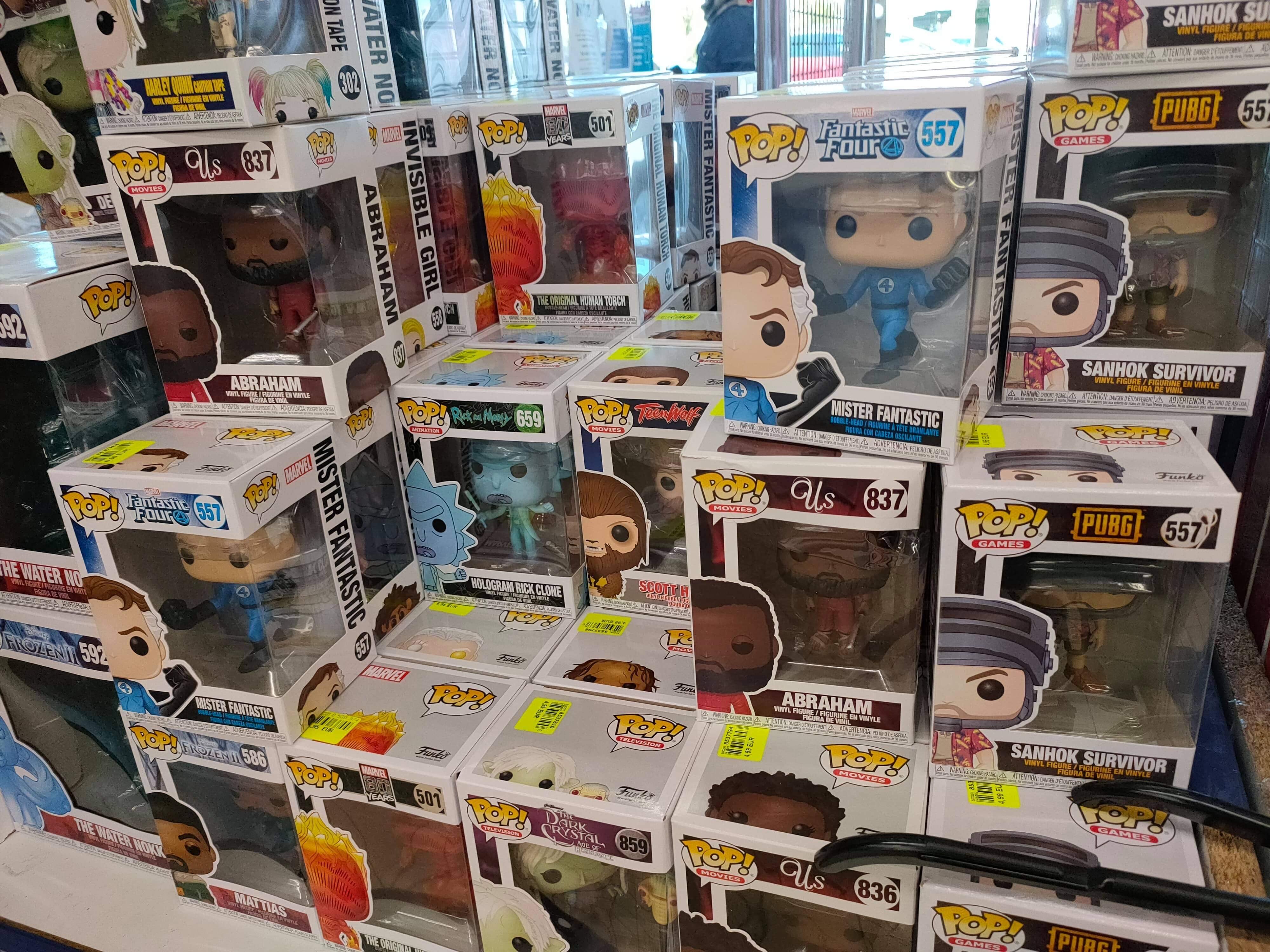 Sélection de figurines Funko Pop! en promotion (Marvel, Rick et Morty, Toy Story...) - Montataire (60)