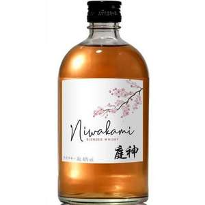 Bouteille de whisky japonais Niwakami Blended Whisky - 40%, 70 cl