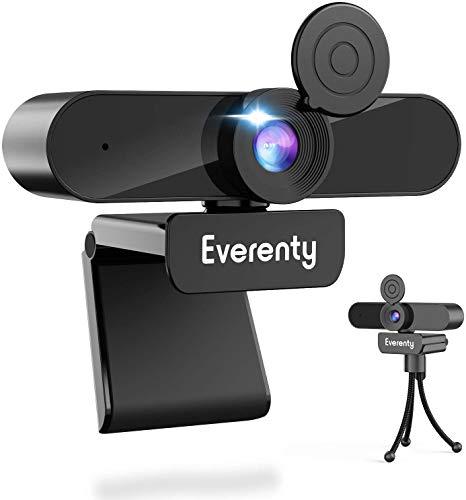 Webcam Everenty - Full HD, avec Microphone Stéréo (Vendeur tiers)