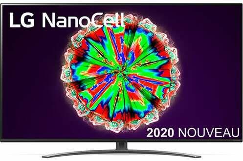 "TV 55"" LG Nanocell 55NANO816 - 4K UHD, LED, WebOS (Frontaliers Suisse)"