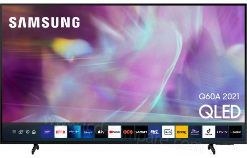 "TV 55"" Samsung QE55Q60A (2021) - 4K UHD, HDR 10+, QLED, Smart TV (via 248.7€ sur la carte + 100€ via ODR) - Orvault (44)"
