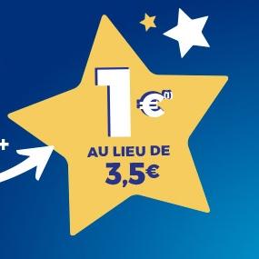 Grille de tirage EuroMillions avec option Étoile+ (via Quoty)