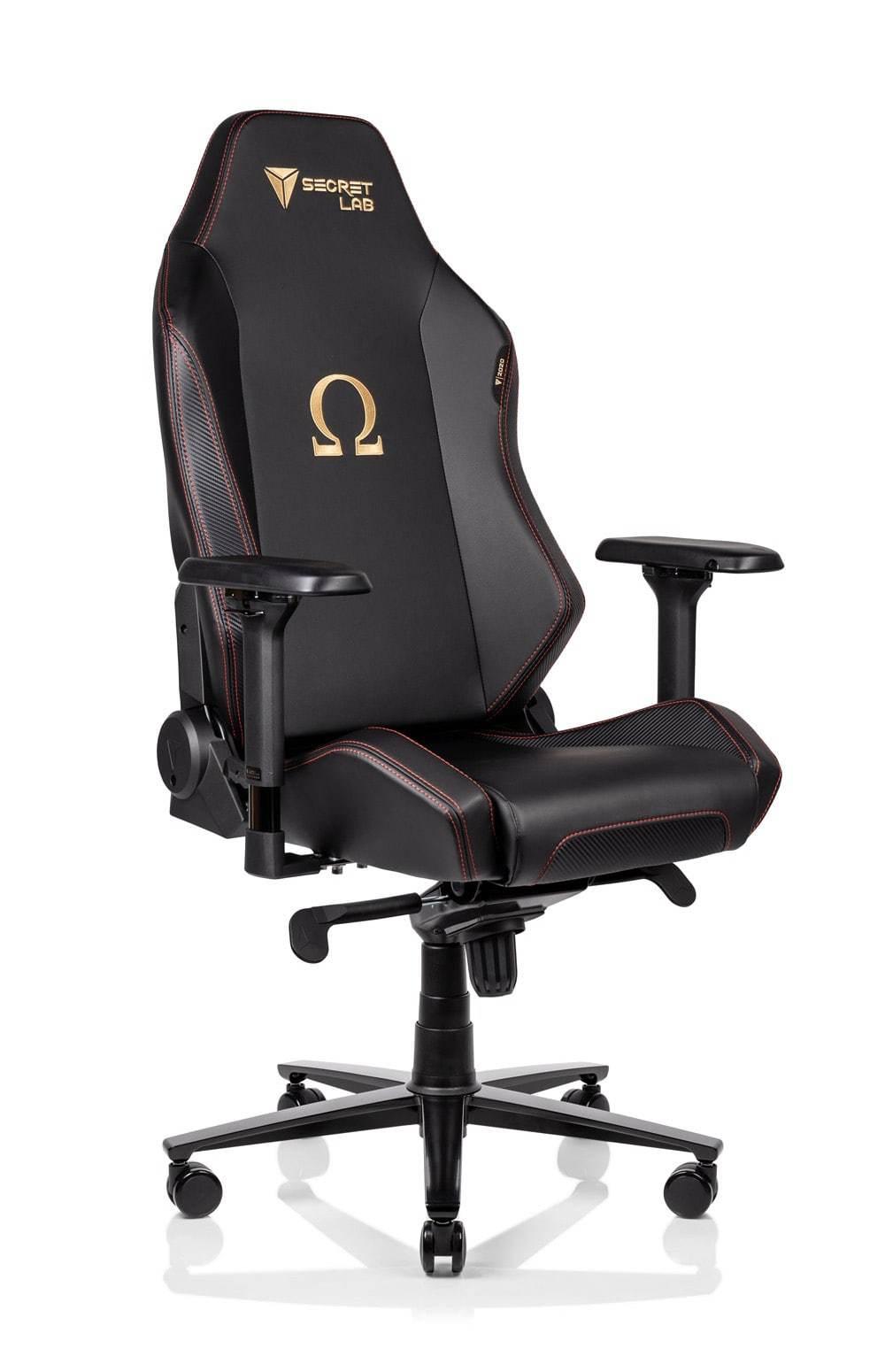 Sélection d'articles en promotion - Ex : fauteuil de bureau SecretLab Omega 2020 Series (en cuir PU Prime 2.0) - SecretLab.eu