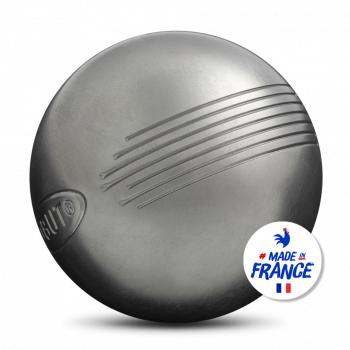Jeu de 3 boules de pétanque en inox Obut Side (obut.com)