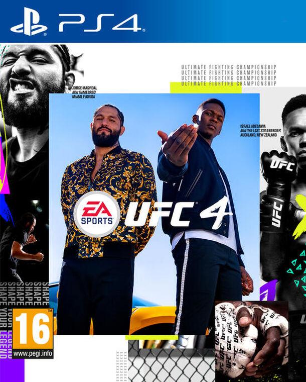 Ufc 4 sur PS4
