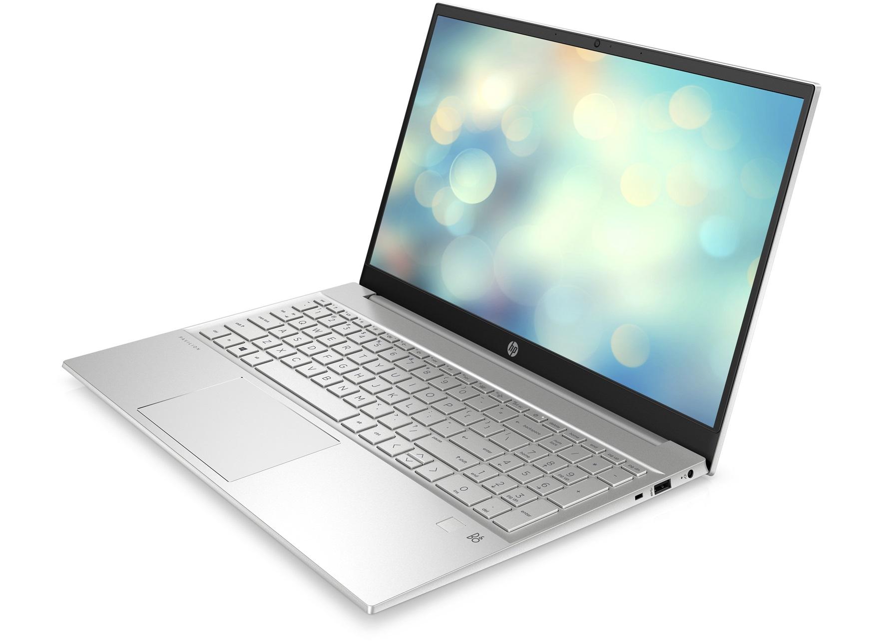 """PC Portable 15.6"""" HP Pavilion 15-eg0006nf - Full HD IPS, i3-1115G4, RAM 8Go, SSD NVMe 512Go"""