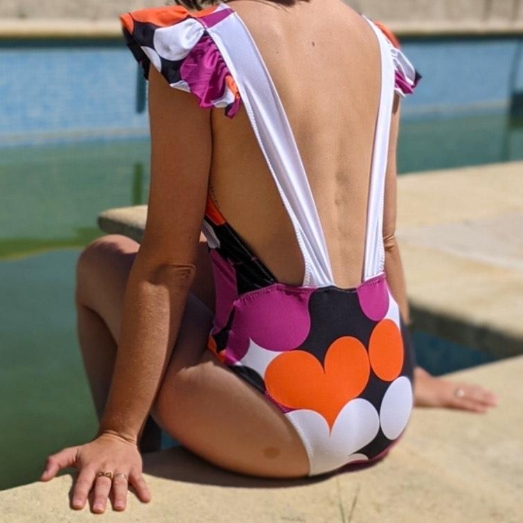 Patron de couture Maillot de bain Gaston gratuit (format PDF, dématérialisé)