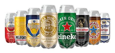 Lot de 8 fûts de bière The Sub Découverte - 8x2 L