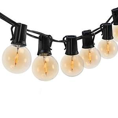 Guirlande lumineuse d'extérieur LED Somthin - 25 m, blanc chaud (vendeur tiers)