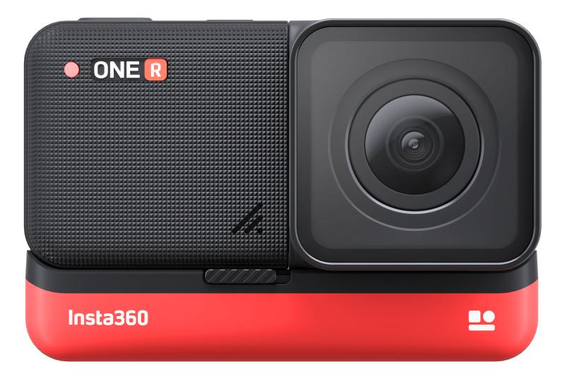 Caméra sportive Insta360 One R (4K UHD) - avec une batterie supplémentaire - store.Insta360.com