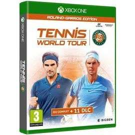 Tennis World Tour Roland Garros - jeu + 11 DLC sur Xbox One