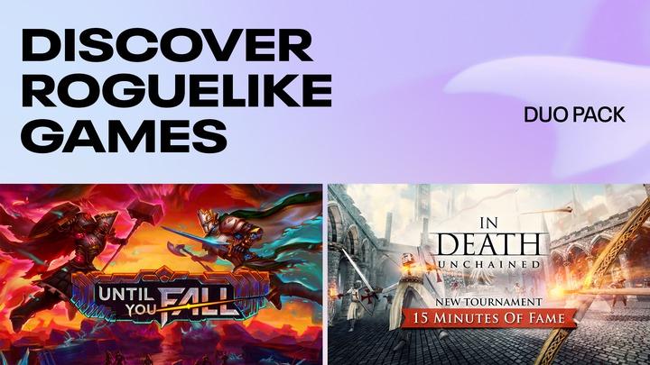 Until you fall + In death unchained sur Oculus quest 1 & 2 (Dématérialisé)