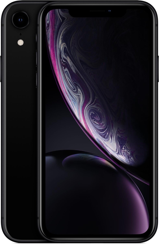 "Smartphone 6.1"" Apple iPhone Xr (full HD Retina, A12, 3 Go de RAM, 64 Go, noir) - reconditionné (vendeur tiers)"