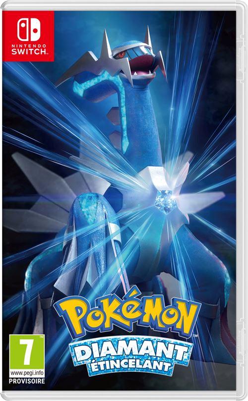 [Pré-commande - adhérents] Pokémon - Diamant Étincelant ou Perle Scintillante sur Switch (+ 10€ sur le compte-fidélité)
