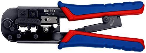 Pince à sertir Knipex RJ11/RJ12 & RJ45 (190 mm)