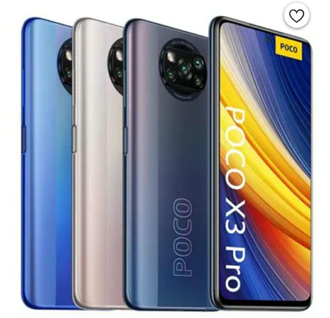 """Smartphone 6.67"""" Poco X3 Pro - 6 Go de Ram, 128 Go (Vendeur Tiers)"""