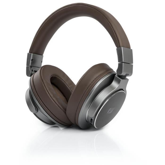 Casque sans fil Muse M-278 BT - Bluetooth, Autonomie 30h, Marron