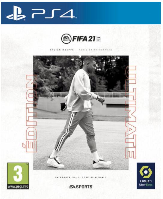 Jeu Fifa 21 sur PS4 - édition ultimate
