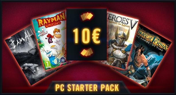 PC Starter Pack - 4 jeux dématérialisés (dont Rayman Origins et I am Alive)