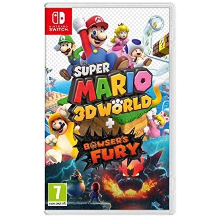 Super Mario 3D World + Bowser's Fury sur Nintendo Switch