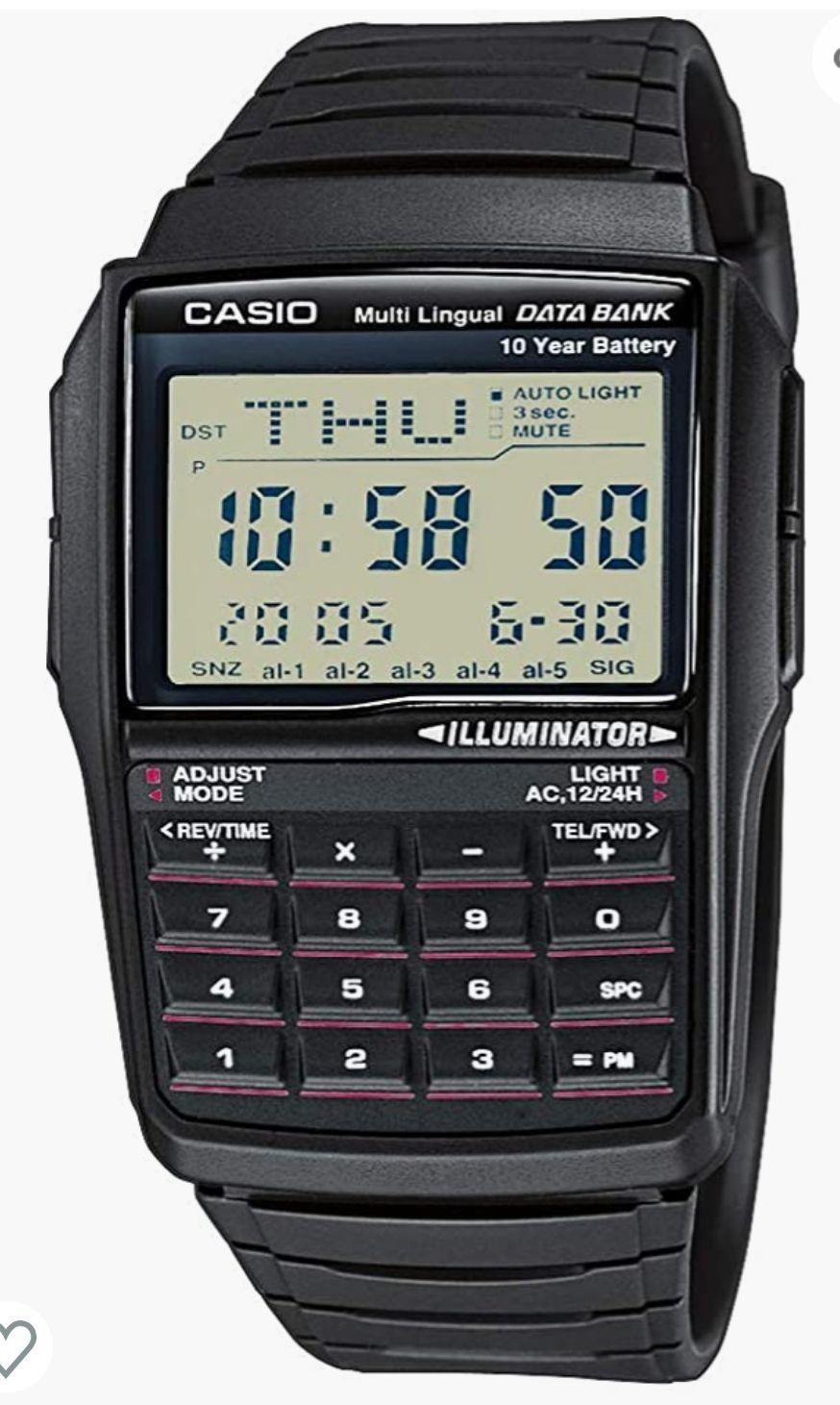 Montre Calculatrice Casio DBC 32-1 AES