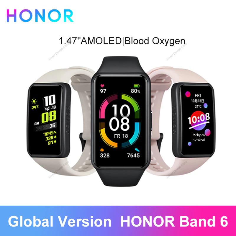 Bracelet connecté Honor Band 6 (Entrepôt France)