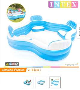 Piscine gonflable Intex - 2.29x2.29x0.66 m
