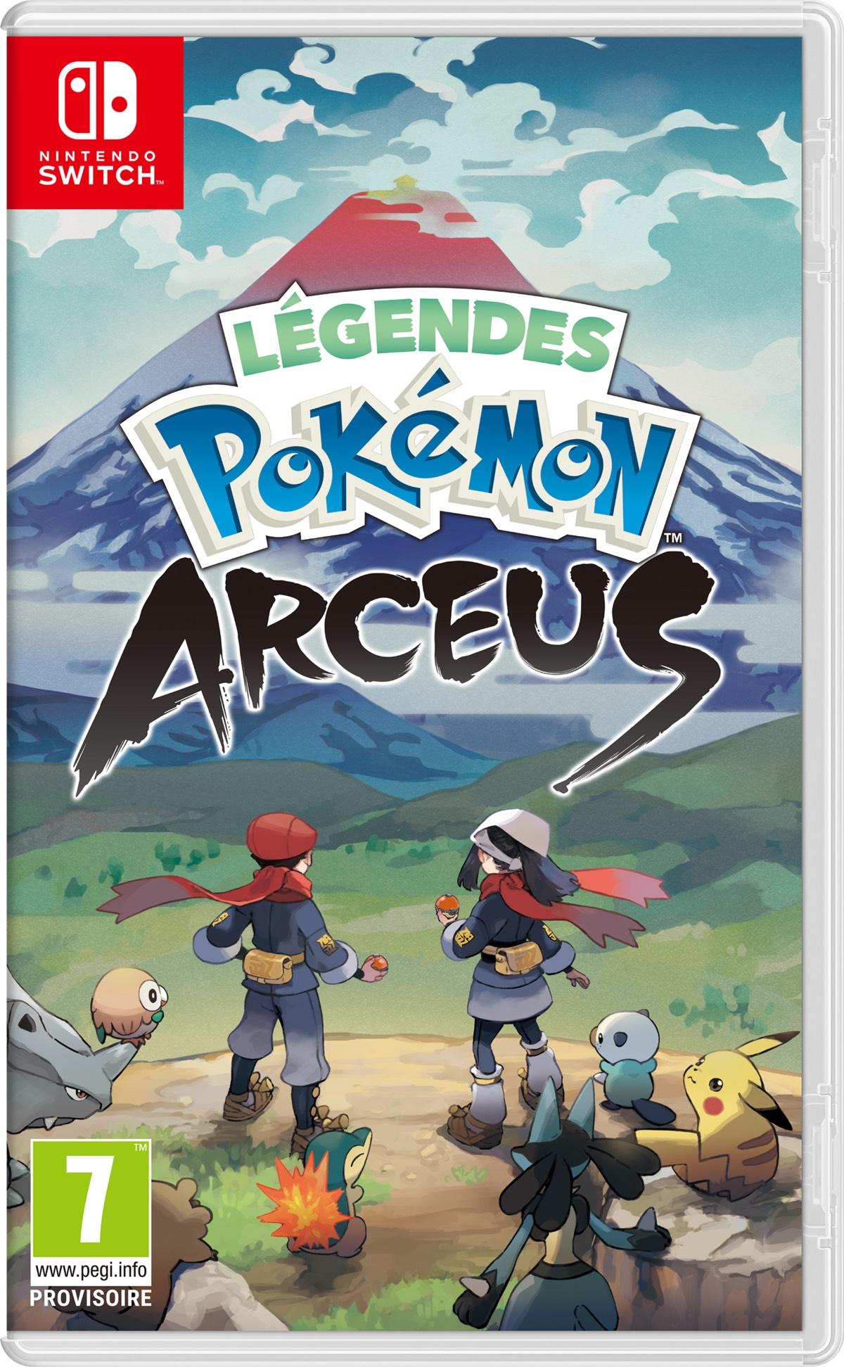 [Précommande] Légendes Pokémon : Arceus sur Nintendo Switch