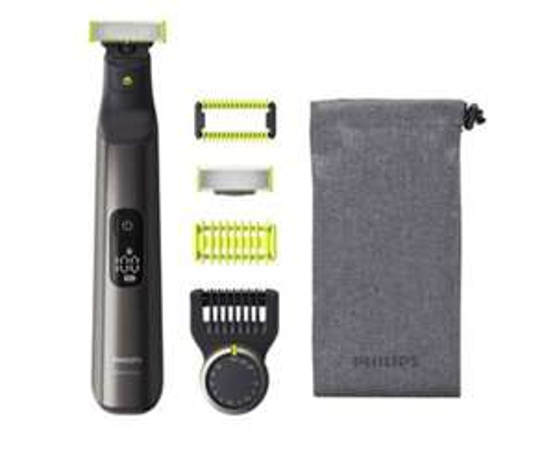 Rasoir électrique Philips OneBlade Pro QP6550/17 avec accessoires