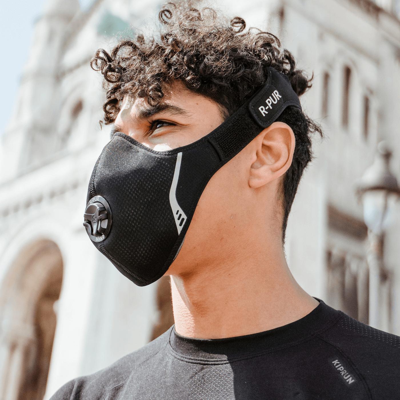 [Précommande] Masque R-Pur Nano Sport + Stop-Valve - r-pur.com